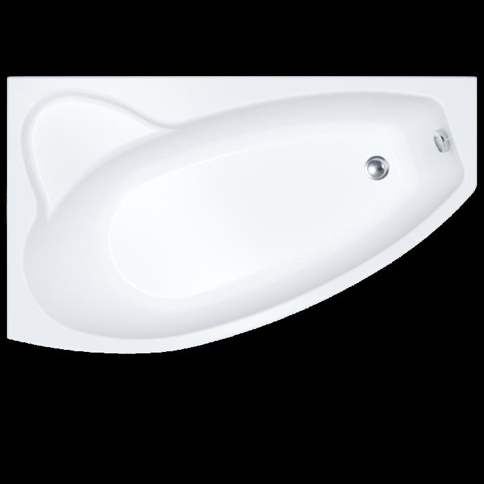 Ванна акриловая Triton Барселона правая 170*94