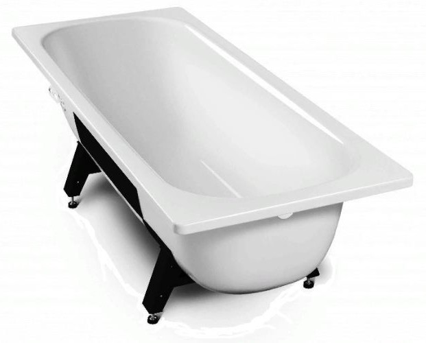 """Ванна стальная """"Tevro"""" 2,7мм белая 170*70см с ножками ВИЗ"""